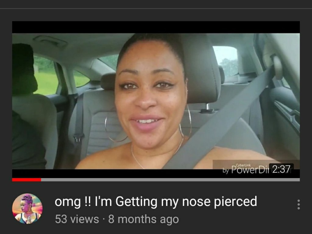 Watch Omg I M Getting My Nose Pierced On Youtube Natural